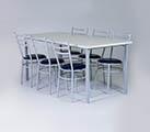 Conjunto 2 - Mesa para refeitório e cadeiras