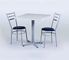 Conjunto 5 - Mesa para refeitório e cadeiras
